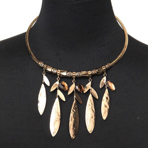 Leaves Of Eden Collar Necklace - Mandala Jane
