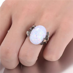 Opal Illumination Ring - Mandala Jane