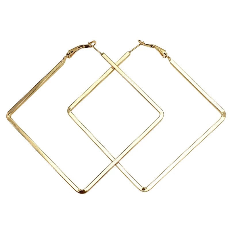 Timeless Square Hoop Earrings