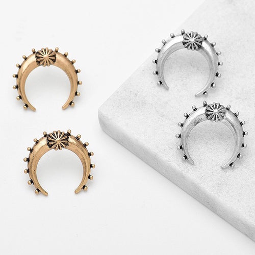 Naja Stud Earrings - Mandala Jane