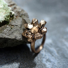 Faceted Floral Ring - Mandala Jane