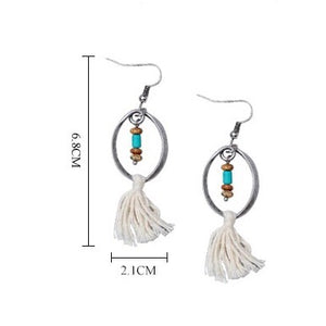 Sedona Tassel Earrings - Mandala Jane