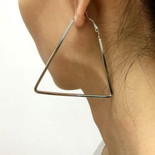 Timeless Triangle Hoop Earrings - Mandala Jane