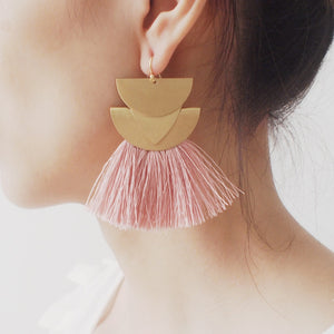 Zion Canyon Tassel Earrings - Mandala Jane