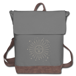 Spirit Of Sol Backpack - gray/brown