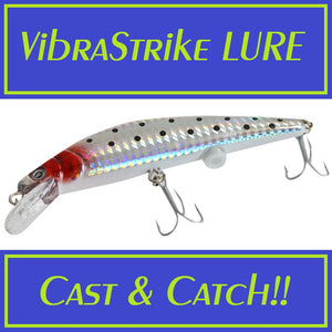 VibraStrike Rechargeable Fishing Lure