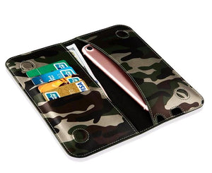Camo Phone Pouch Wallet