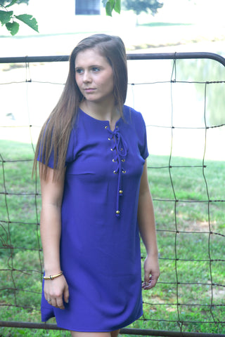 First Down Dress - Cotton Charm Boutique