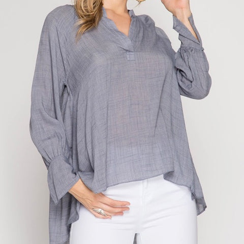 Simply Beautiful Top - Cotton Charm Boutique