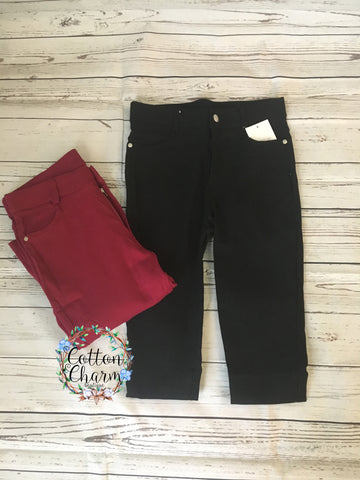 Walk With You Jeggings - Cotton Charm Boutique