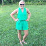 Summer Adventures Romper - Cotton Charm Boutique