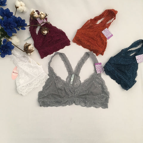 Lace Bralette Top - Cotton Charm Boutique