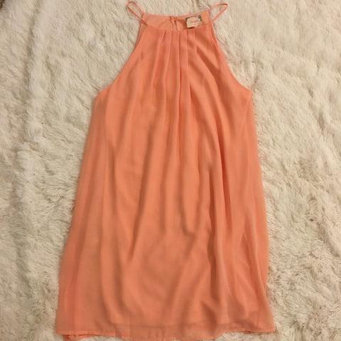 Just Peachy Dress - Cotton Charm Boutique