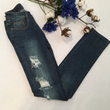 The Complete Look Distressed Jeans - Cotton Charm Boutique
