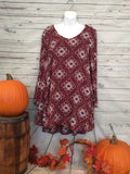 Lost in my Thoughts Tunic - Cotton Charm Boutique