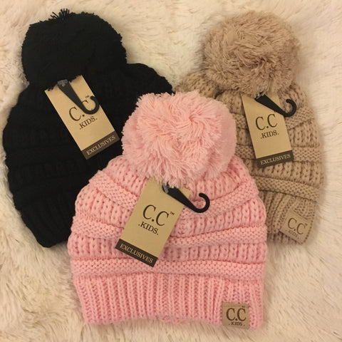 CC Kids Pom Pom - Cotton Charm Boutique