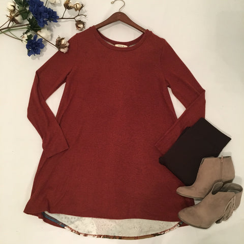 Take a Peek Tunic - Cotton Charm Boutique