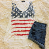God Bless America Tank Top - Cotton Charm Boutique