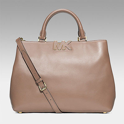34a59519417 ... Michael Kors Florence Large Satchel Leather Handbag Satchel $398 NEW in  Package ...