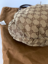 Gucci canvas guccisimma large hobo studded tote