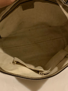 Gucci Bella Flap GG canvas and leather Hobo Bag