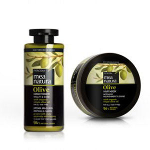 MEA NATURA Olive Hair Bundle Conditioner + Haarmaske