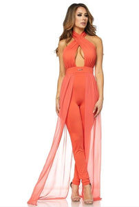 Magnify Me Jumpsuit- Amber