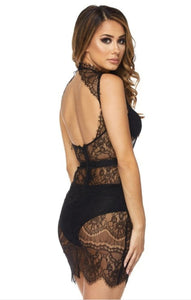 Sexy Lace Darling Mini Dress