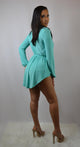 Aqua Tunic and Shorts