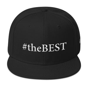 #theBEST (Big) Snapback Hat