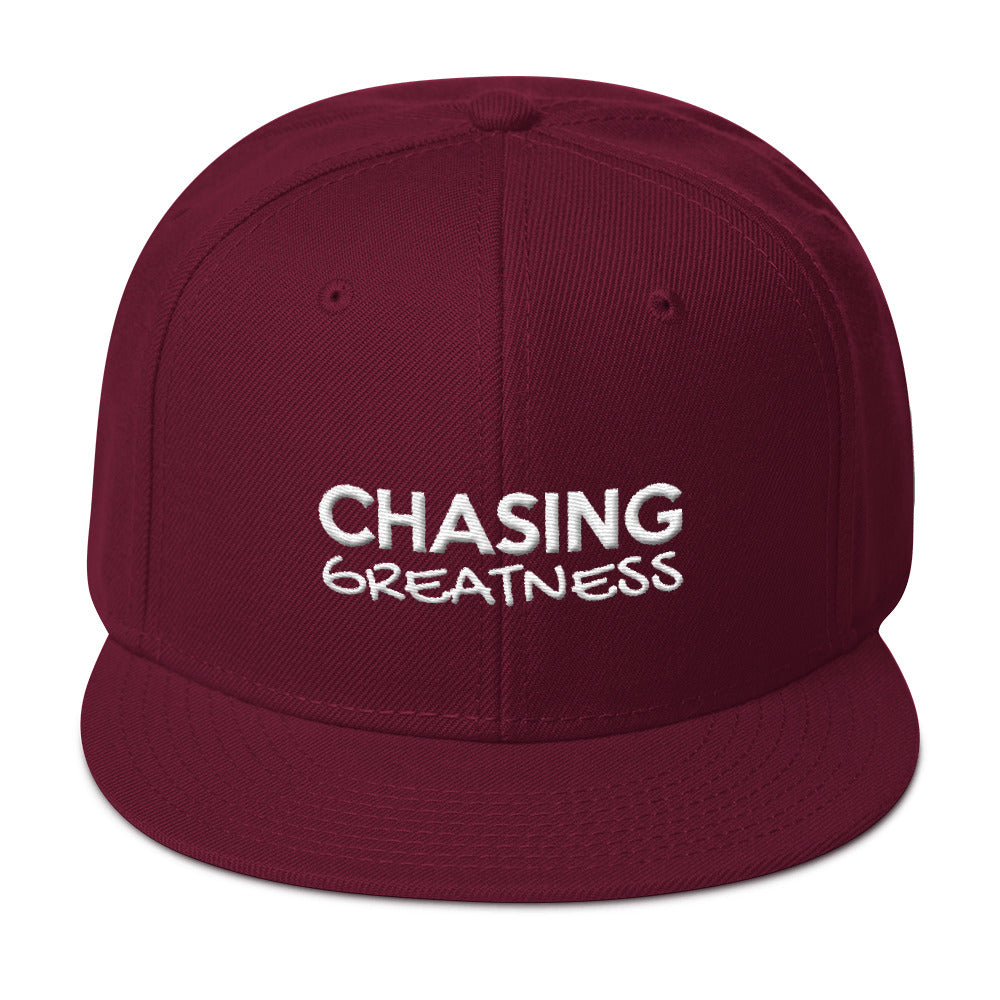 Chasing Greatness Snapback