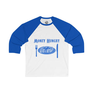 Money Hungry baseball T