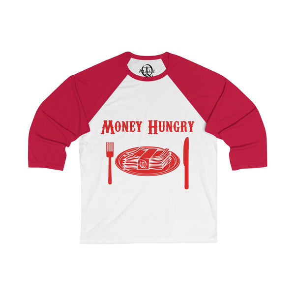 Men's Money Hungry Baseball T