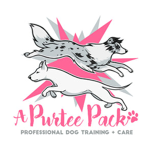 A Purtee Pack Dog Training Logo
