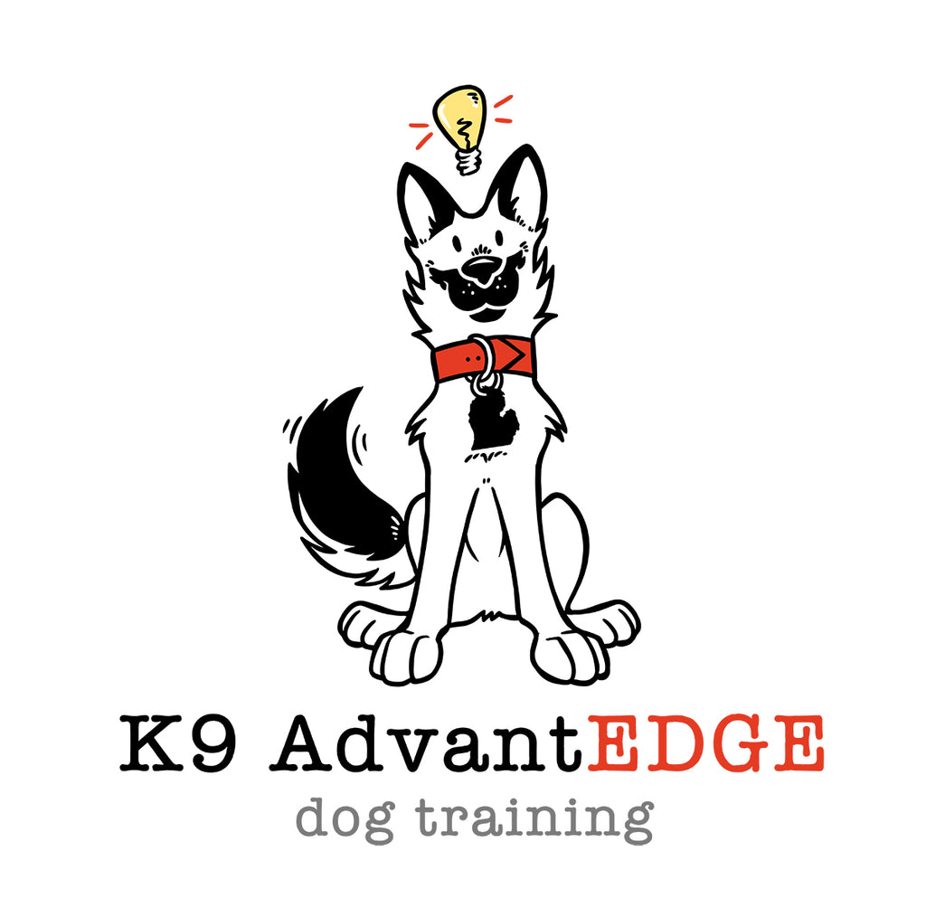 k9 advantedge dog trainer logo