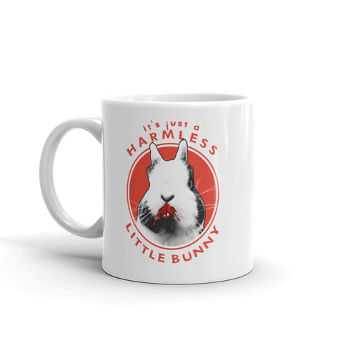 Harmless Little Bunny Vampire Rabbit Ceramic Mug