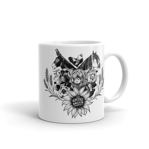 Heritage Breed Project Ceramic Mug - conkberry
