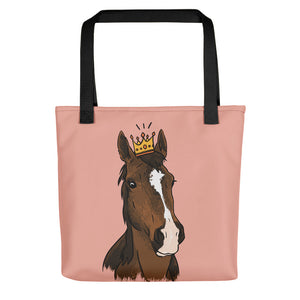 Lagie Queen Horse Tote Bag - conkberry