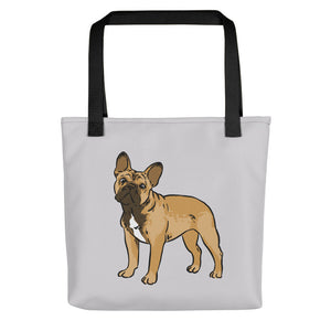 French Bulldog Dog Tote Bag - conkberry