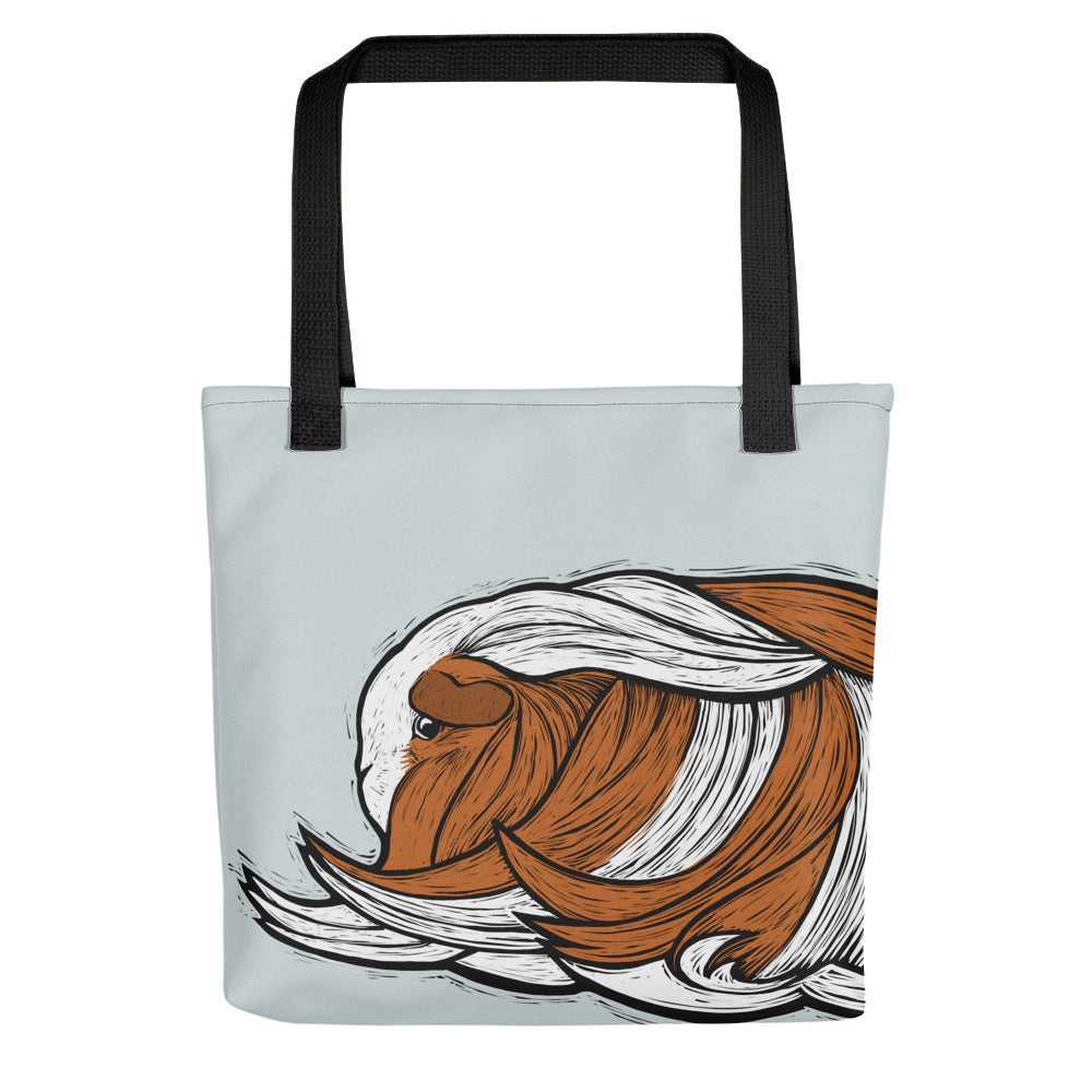 Silkie Cavy Tote Bag - conkberry