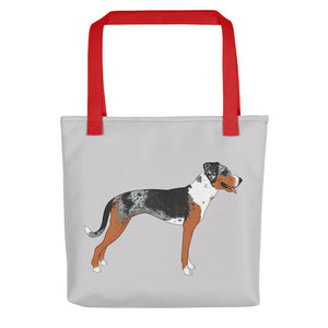 Catahoula Leopard Dog Tote Bag - conkberry