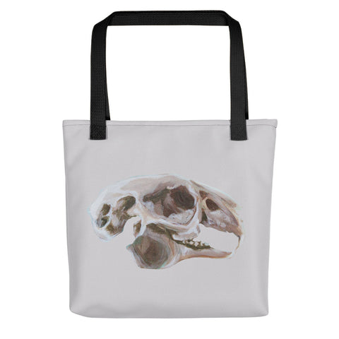 Rabbit Skull Tote Bag