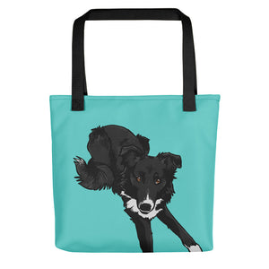 Border Collie Tote Bag - conkberry