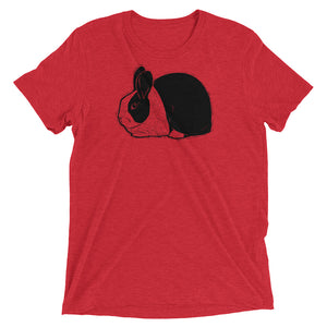 Dutch Rabbit Super Soft Unisex Triblend T-Shirt - conkberry