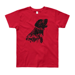 Smitty San Francisco Hound Unisex Kids T-Shirt - conkberry