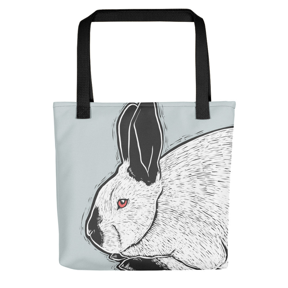 Californian Rabbit Tote Bag - conkberry