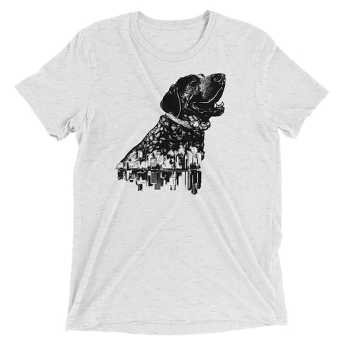 Smitty San Francisco Hound Unisex Triblend T-Shirt - conkberry