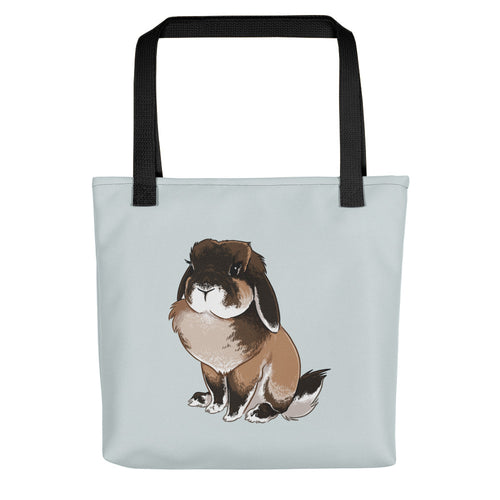 Lexa Lop Bunny Tote Bag - conkberry