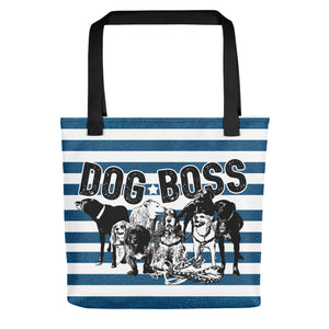 Dog Boss Tote Bag - conkberry