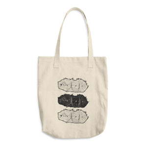 Abyssinian Guinea Pig / Cavy Cotton Tote Bag - conkberry